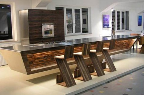 inspiration for custom built bar