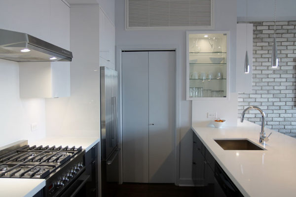 luxury condo kitchen renovation after picture