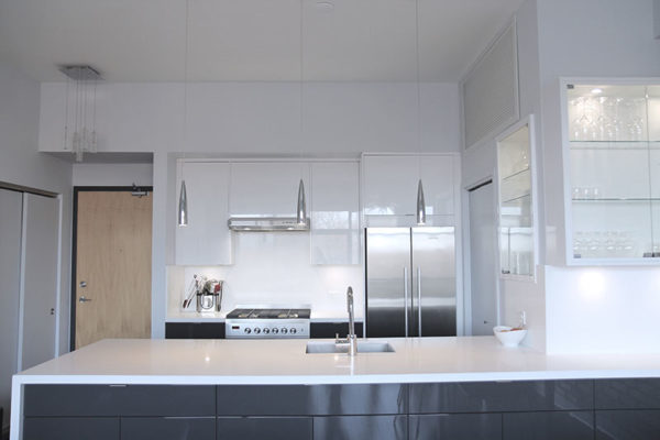 condo kitchen renovation after picture